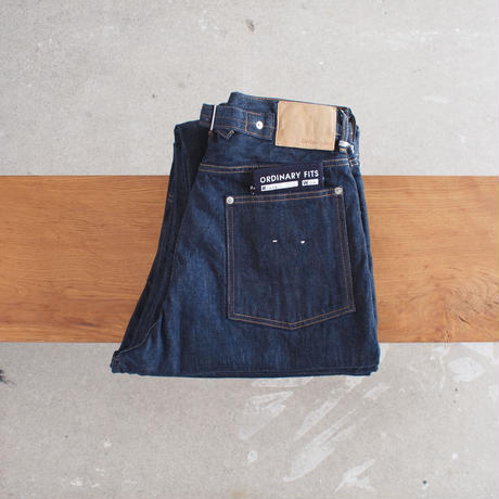 【unisex】Ordinary fits〈オーディナリーフィッツ〉 NEW FARMERS 5P DENIM one wash INDIGO