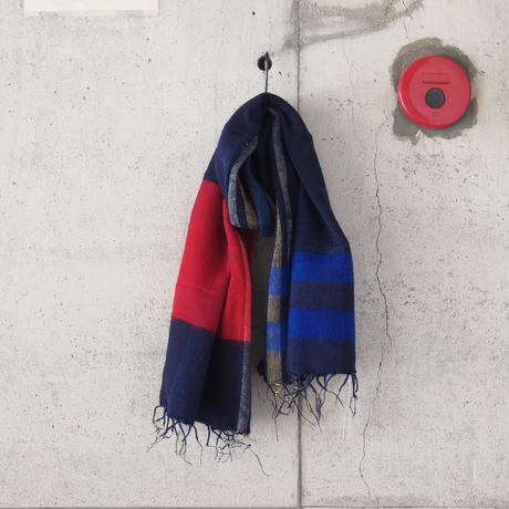 hint hint〈ヒントヒント〉  STOLE (10) NAVY×RED