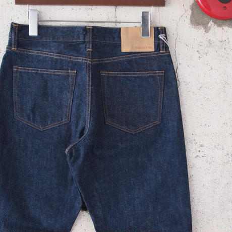 【unisex】Ordinary fits〈オーディナリーフィッツ〉 5POCKET ROLL UP DENIM one wash (OM-P050OW) INDIGO