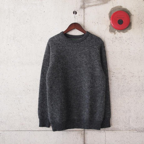 【unisex】have a good day〈ハブアグッデイ〉 SHAGGY SWEATER DK.GREY