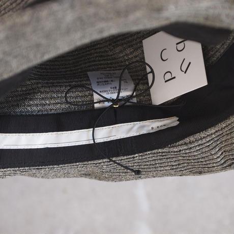 parc-nique 〈パークニック〉 PAPER HAT 01 GREY