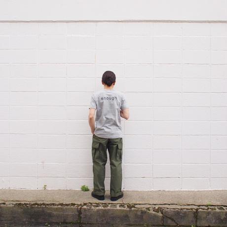 SEIRYU & Co.〈セイリューアンドコー〉 USUAL DAYS Tee GERY
