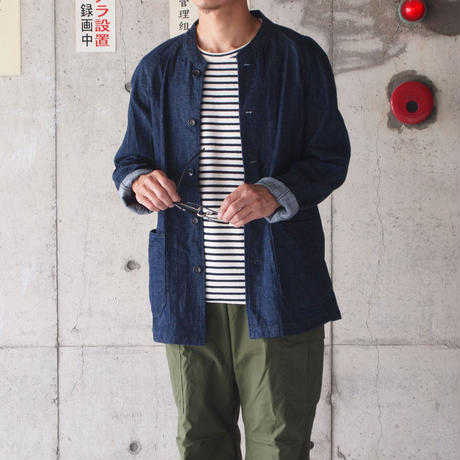 【unisex】Ordinary fits〈オーディナリーフィッツ〉DENIM JACKET - TOBY INDIGO