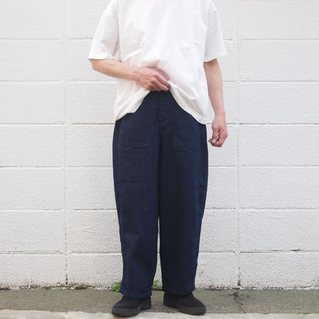 【unisex】Ordinary fits〈オーディナリーフィッツ〉 JAMES PANTS one wash INDIGO