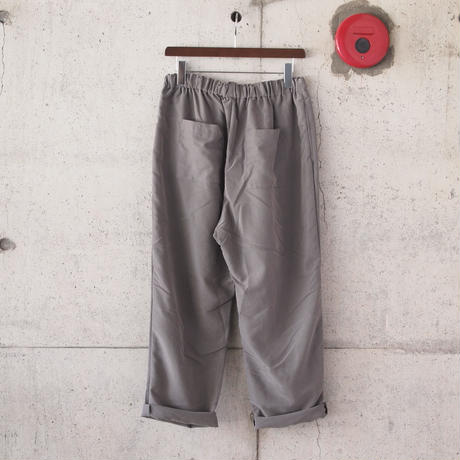 Manual Alphabet〈マニュアルアルファベット〉 SMOOTH THAI PANTS GREGE