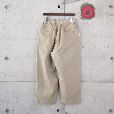 【unisex】Ordinary fits〈オーディナリーフィッツ〉 BOTTLES PANTS chino BEIGE