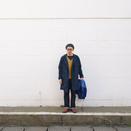 have a good day〈ハブアグッディ〉 WHOLEGARMENT VNECK CARDIGAN MUSTARD
