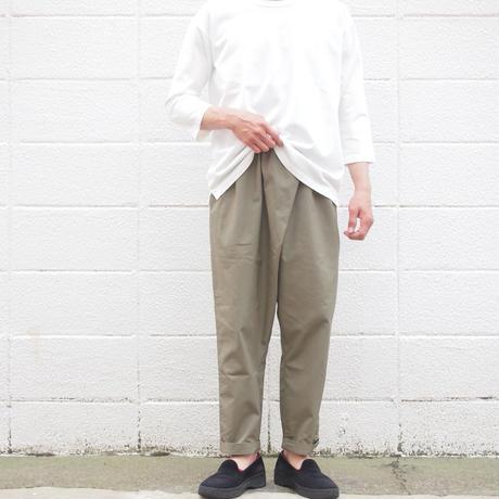 【unisex】Ordinary fits〈オーディナリーフィッツ〉 TWIST PANTS KHAKI