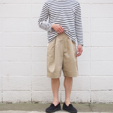 【unisex】Ordinary fits〈オーディナリーフィッツ〉 BOTTLES SHORTS BEIGE