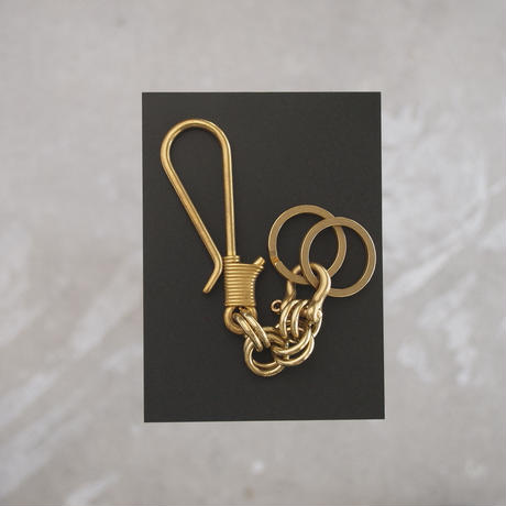 Esperanto〈エスペラント〉 BRASS KEY HOLDER ANTIQUE GOLD