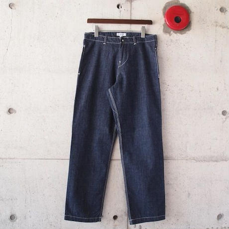 Ordinary fits〈オーディナリーフィッツ〉 DENIM WORK PANTS one wash (OM-P065OW) INDIGO