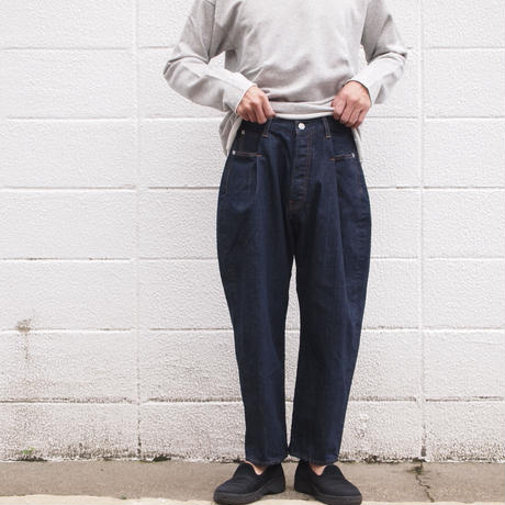 【unisex】Ordinary fits〈オーディナリーフィッツ〉 TACK 5P DENIM one wash