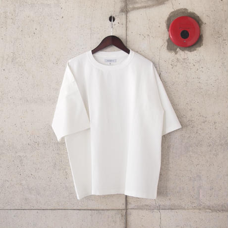 【unisex】Ordinary fits〈オーディナリーフィッツ〉UNISEX TEE WHITE