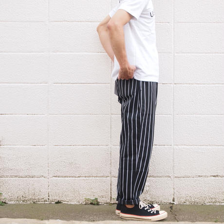 【unisex】COOKMAN〈クックマン〉 CHEF PANTS PIN STRIPE