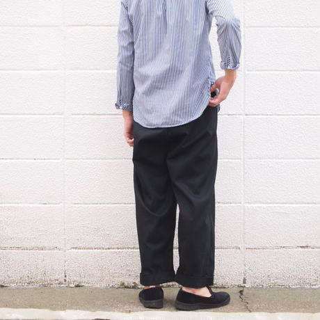 【unisex】Ordinary fits〈オーディナリーフィッツ〉 BOTTLES PANTS BLACK