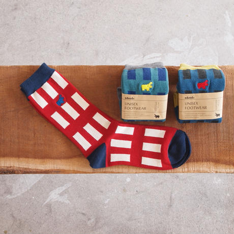 s&nd〈セカンド〉 WINDOW LIGHTS SOX RED/GREEN/BLUE