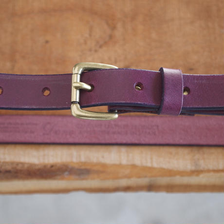 Dono〈ドーノ〉 BUTTERO LEATHER BELT