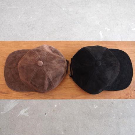 morno〈モーノ〉 SUEDE B.B. CAP BROWN/BLACK