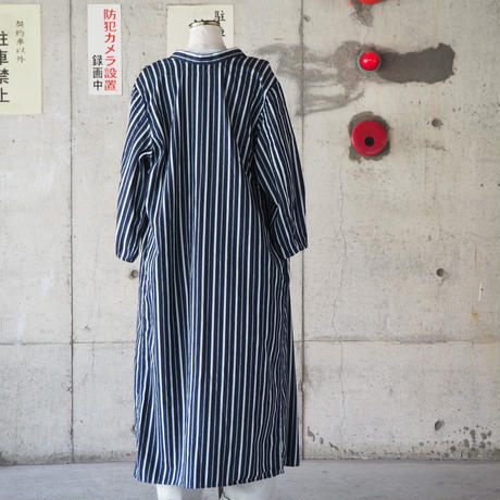 【women】Ordinary fits〈オーディナリーフィッツ〉  MEDICAL GOWN SHIRT NAVY
