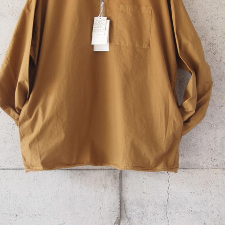 Manual Alphabet〈マニュアルアルファベット〉 PRODUCT DYE LONG SLEEVE POLO GINGER