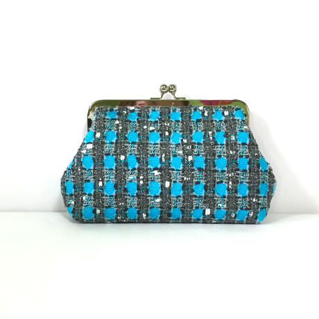 clutch bag★turquoise