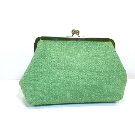 clutch bag★green