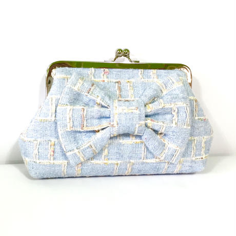 clutch bag ★blue