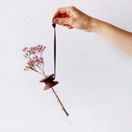 suspended flower  walnut