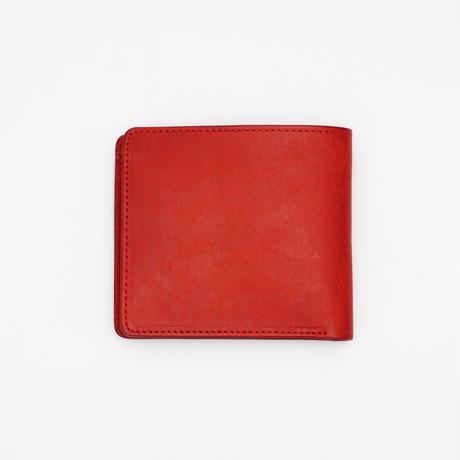 half wallet(レッド)