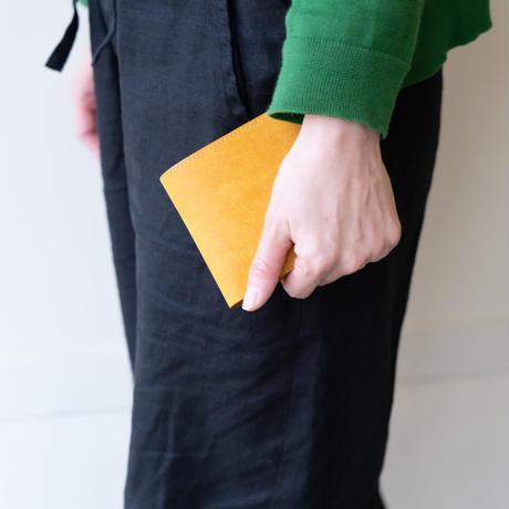 half wallet(マスタード)