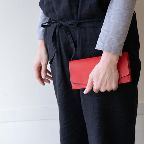 long wallet(レッド)