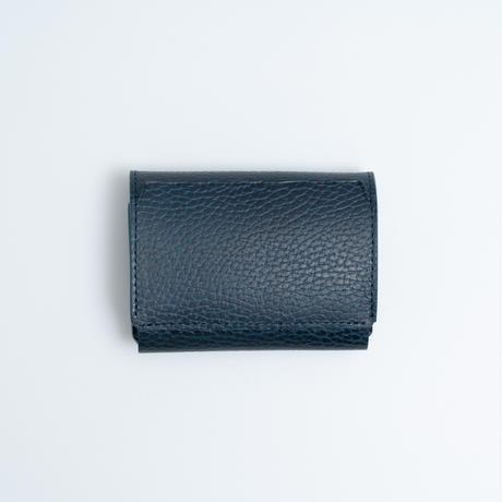 Daily wallet(型押しネイビー)