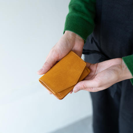 mini  wallet(マスタード)