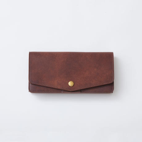 long wallet(ダークブラウン)