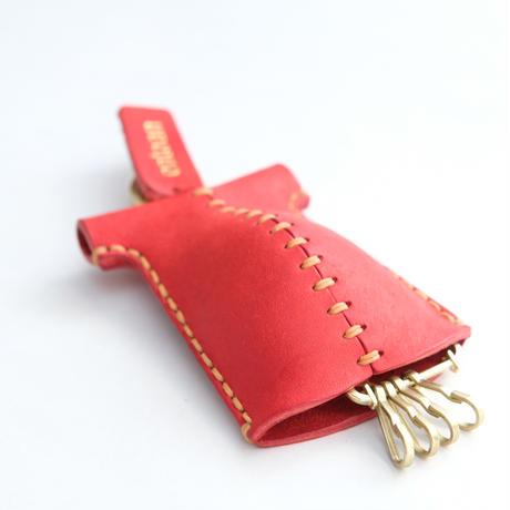 おなかぽっこりキーケース Christmas Red