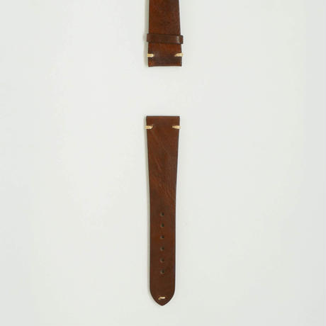 Aging  Leather Strap for ROLEX Dark Brown