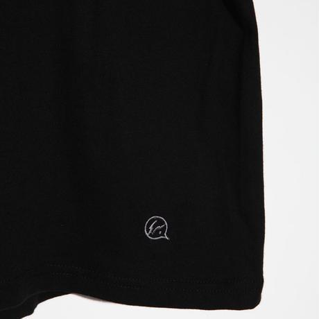 クルーネック Tシャツ ブラック[VFC1060]