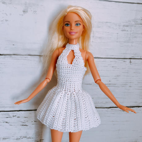 Barbieフロントオープンミニワンピ
