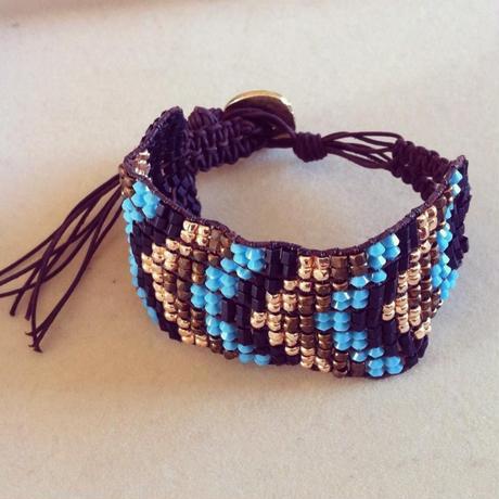 Design Wrap Bracelet / ラップブレス 柄入