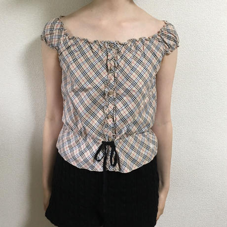 Burberry  frill ribbon design tops(No.2959)