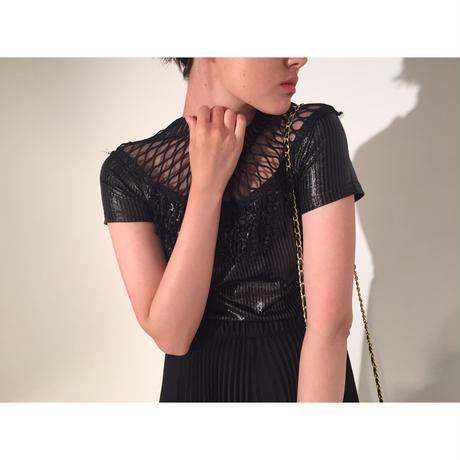 neck net tops