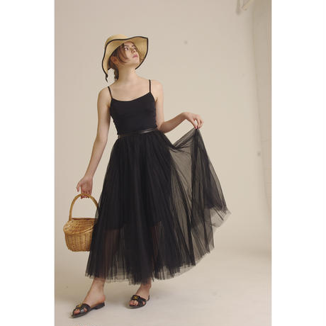 3tulle volume skirt