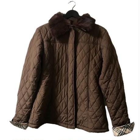 burberry fur dhow coat