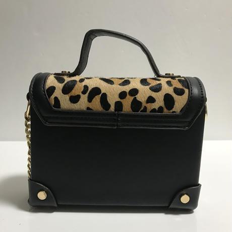 leopard harako design chain bag