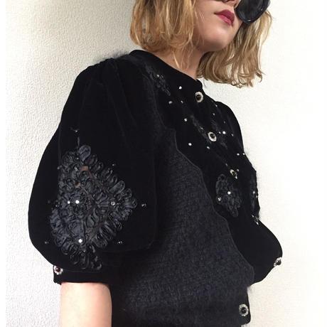 velour bijou knit