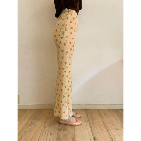 chiffon frower bell pants