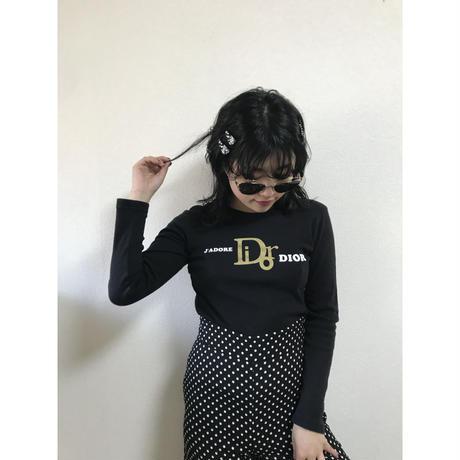 Dior logo design long tee