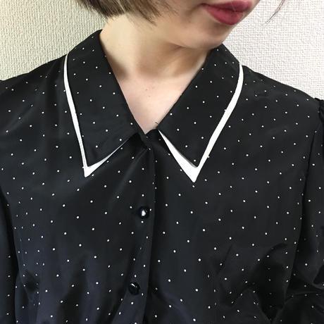 dot design one-piece