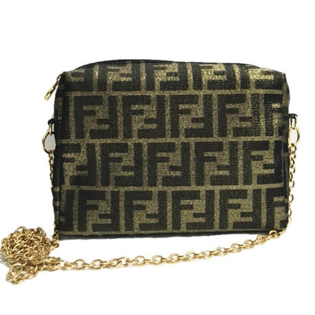 FENDI gold chain shoulder bag