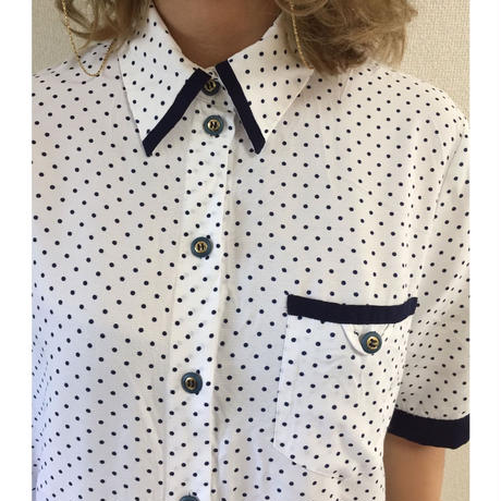dot piping design shirt